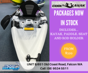 Tackle World Miami now your Cool Kayaks dealer for the Peel region