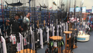 Fishing rods, reels, jigs, lures from Tackle World Miami