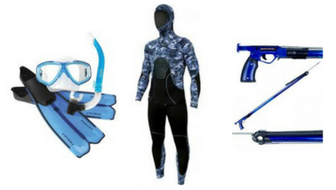 Tackleworld Miami for range of snorkeling and diving equipment