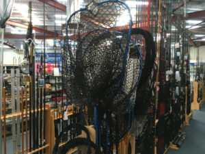 A selection of crab nets in store at TAckle World Miami, south of Mandurah