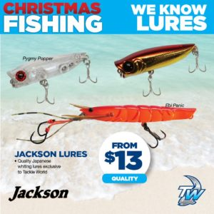 New fishing lures from Tackle World Miami