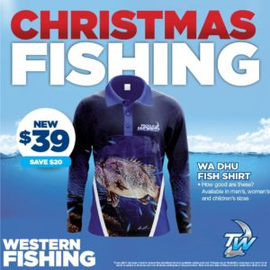 Fishing shirts for Western Australian fishing from Tackle World Miami