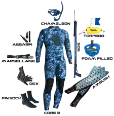 Base Hunter diving and snorkelling gear at Tackle World Miami WA