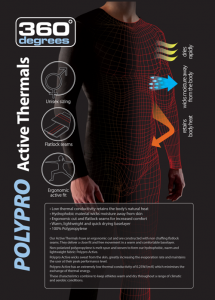 Sea to Summit Poly Pro Thermals now available at Tackle World Miami
