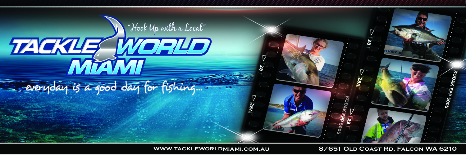 Tackle World Miami For Fishing Supplies Peel Region WA